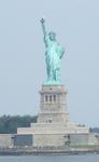 フェリーから見た自由の女神